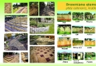 baner reklamowy drewno betonowe