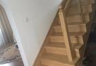 schody dębowe w Łabowej