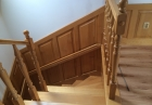 schody drewniane zabiegowe